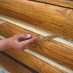 ерметик для заделки швов деревянного дома