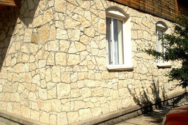 Натуральный камень известняк