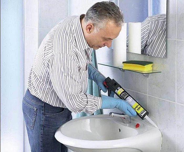 где применяют водостойкий акриловый герметик